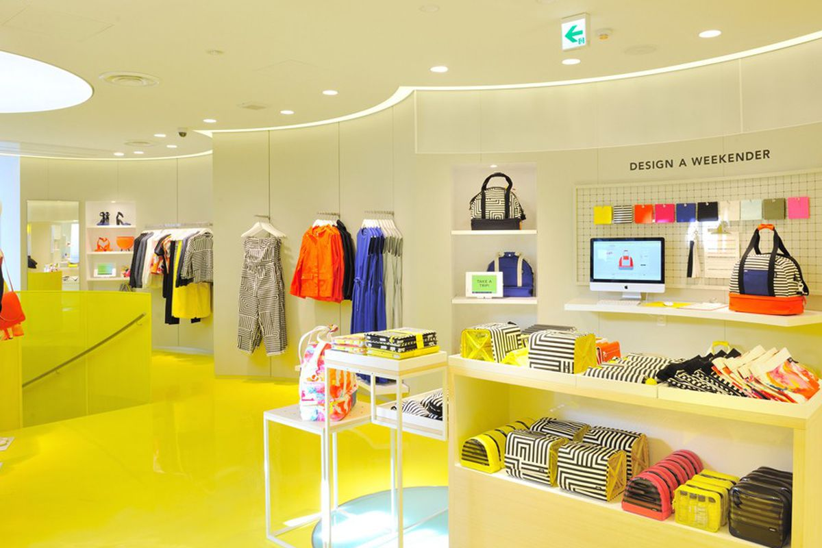 """Kate Spade Saturday in Tokyo. Image via <a href=""""http://www.wwd.com/retail-news/specialty-stores/kate-spade-saturday-opens-in-tokyo-6813158/slideshow#/slideshow/article/6813158/6813248"""">WWD</a>."""