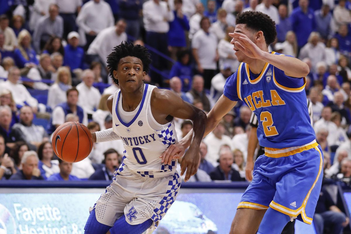 UCLA will probably need to play its best defense of the season tonight to beat Kentucky again.