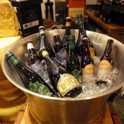 bottled beers.