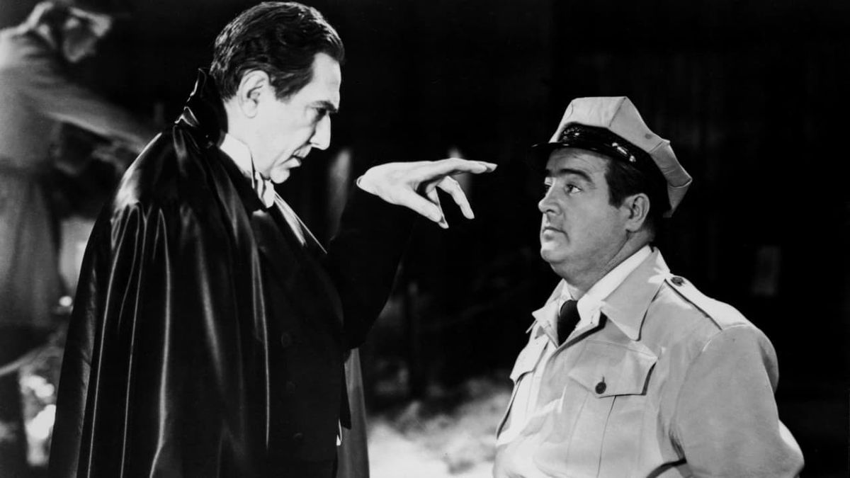 Dracula and Lou Costello face off in Abbott and Costello Meet Frankenstein