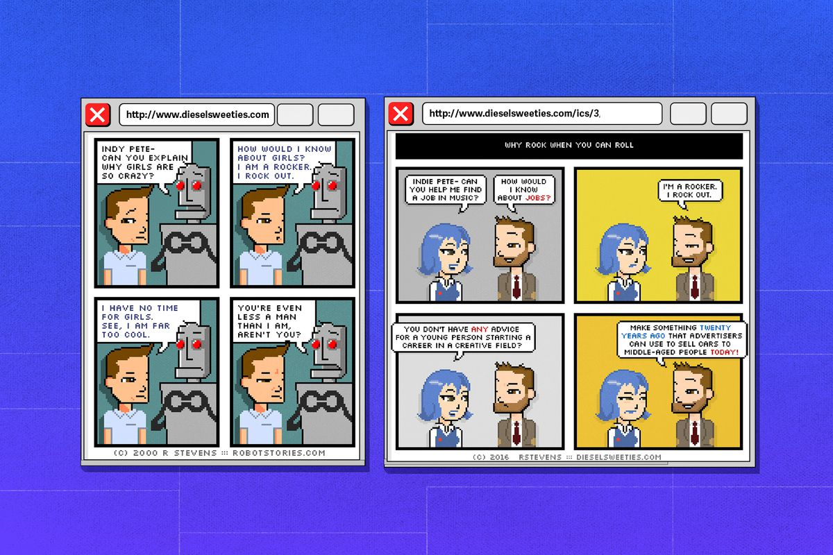 Webcomics: an oral history - The Verge