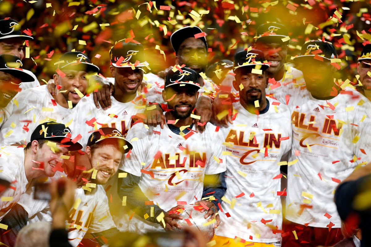 e6aa38098154 The Cleveland Cavaliers are the 2015 NBA Eastern Conference champions: Shop  hats, T-shirts and more