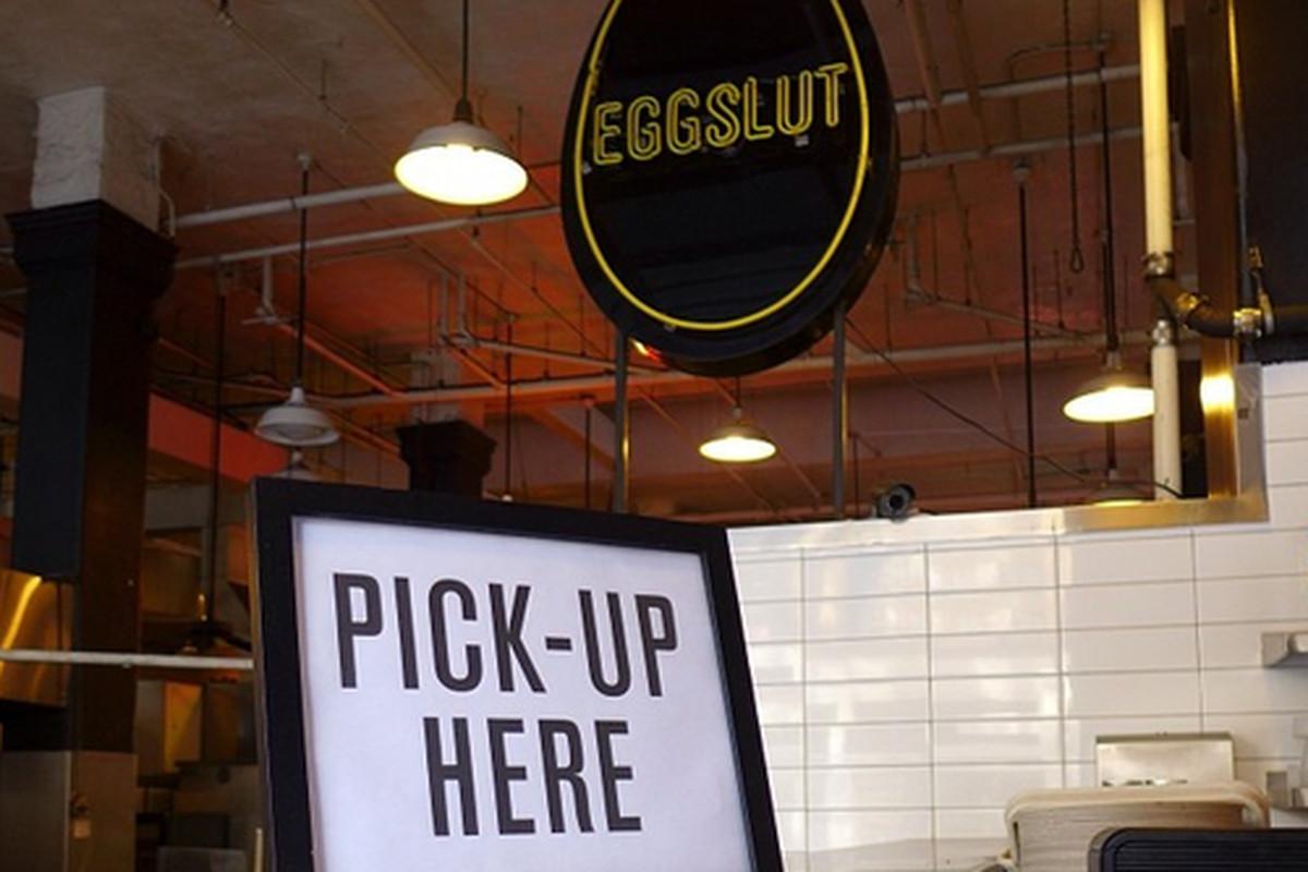 Eggslut at Grand Central Market, Downtown.