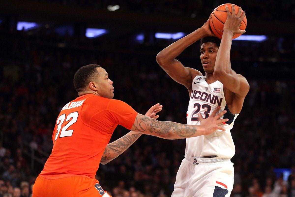 NCAA Basketball: Connecticut vs Syracuse
