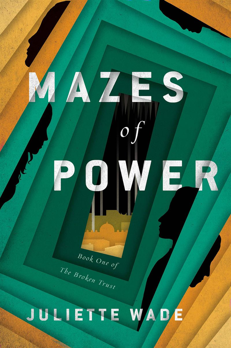 mazes of power cover has blocky rooms turn on their sides