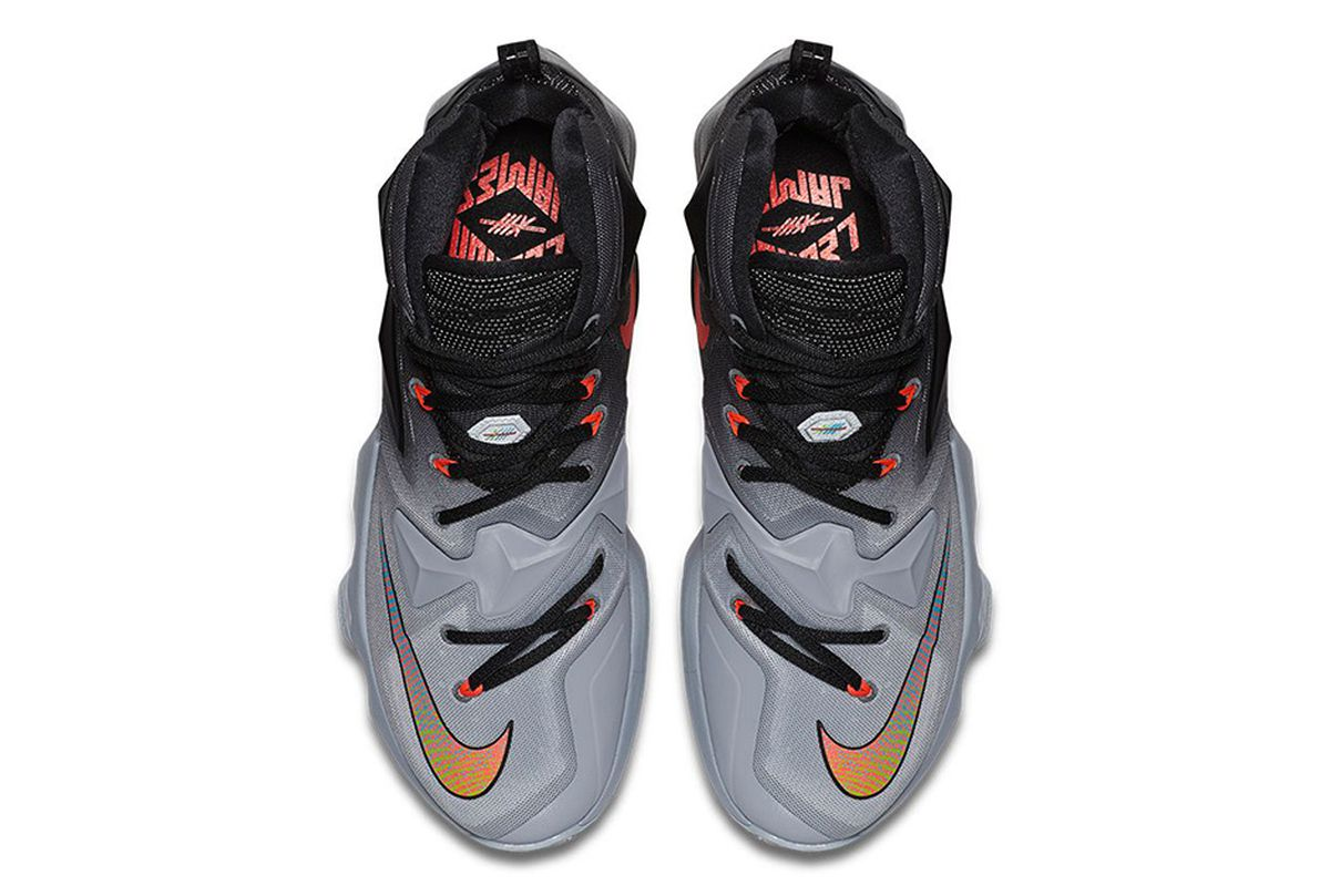 41ff13374dd ... top quality taking inspiration from a few era of cleveland cavaliers  uniforms the nike lebron 13