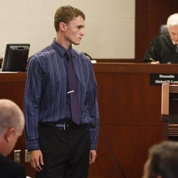 Dallin Todd Morgan, 18, pleaded no contest Thursday, Aug. 30, 2012, to criminal mischief in a plot to bomb an assembly at Roy High School earlier this year. He was ordered to serve 105 days in jail and up to 18 months probation.