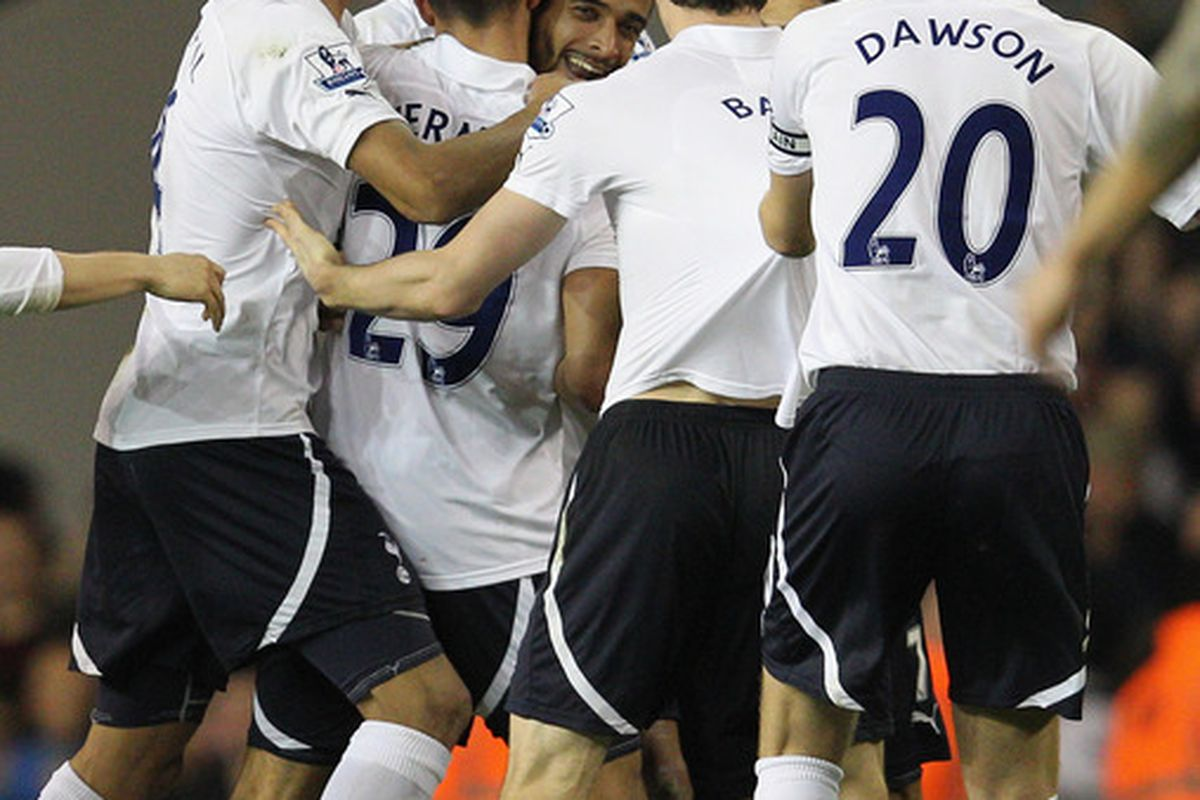 Spurs' last match against Everton went well