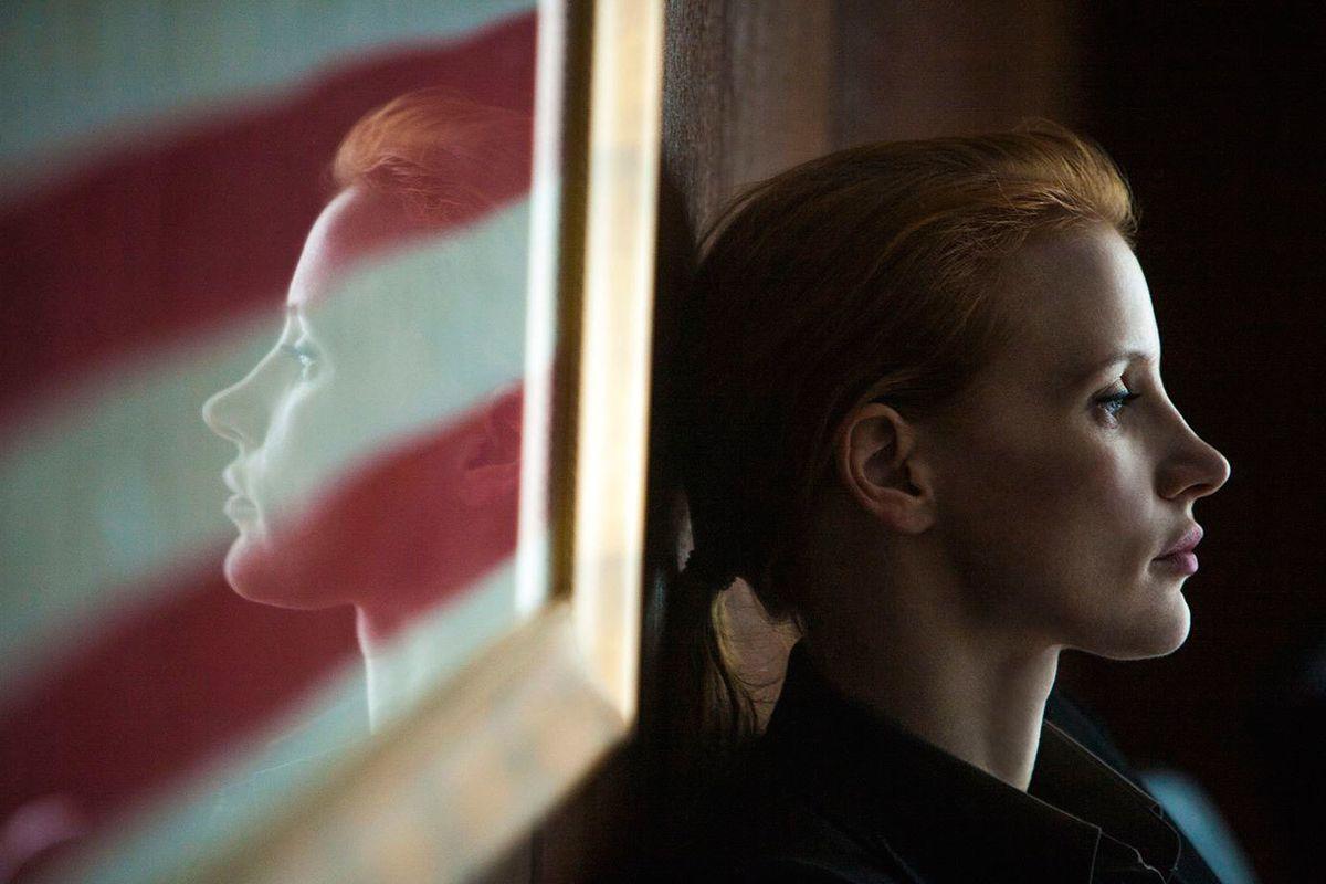 Jessica Chastain in 'Zero Dark Thirty'