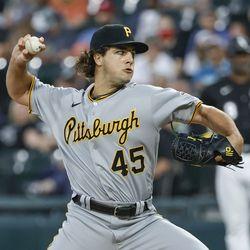 Max Kranick, Pirates starting pitcher on Sunday