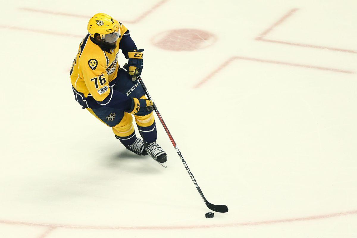 NHL: Stanley Cup Final-Pittsburgh Penguins at Nashville Predators