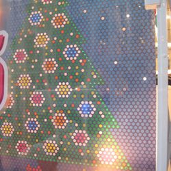 Old Navy's Lite-Brite—two's a trend