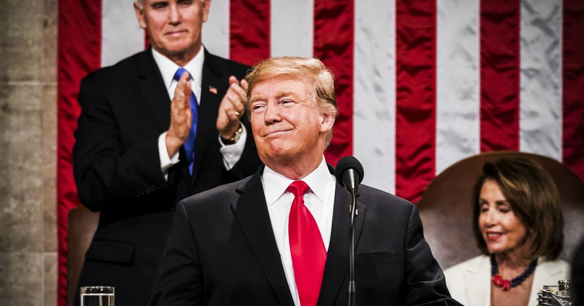Transcript President Trumps State Of The Union Address 2019 Full