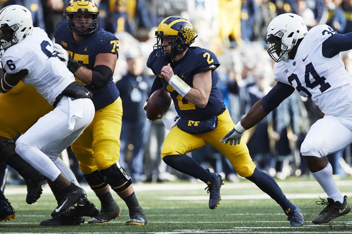 57a92d74c64 Rick Osentoski-USA TODAY Sports. The Michigan Wolverines offense has been  one ...