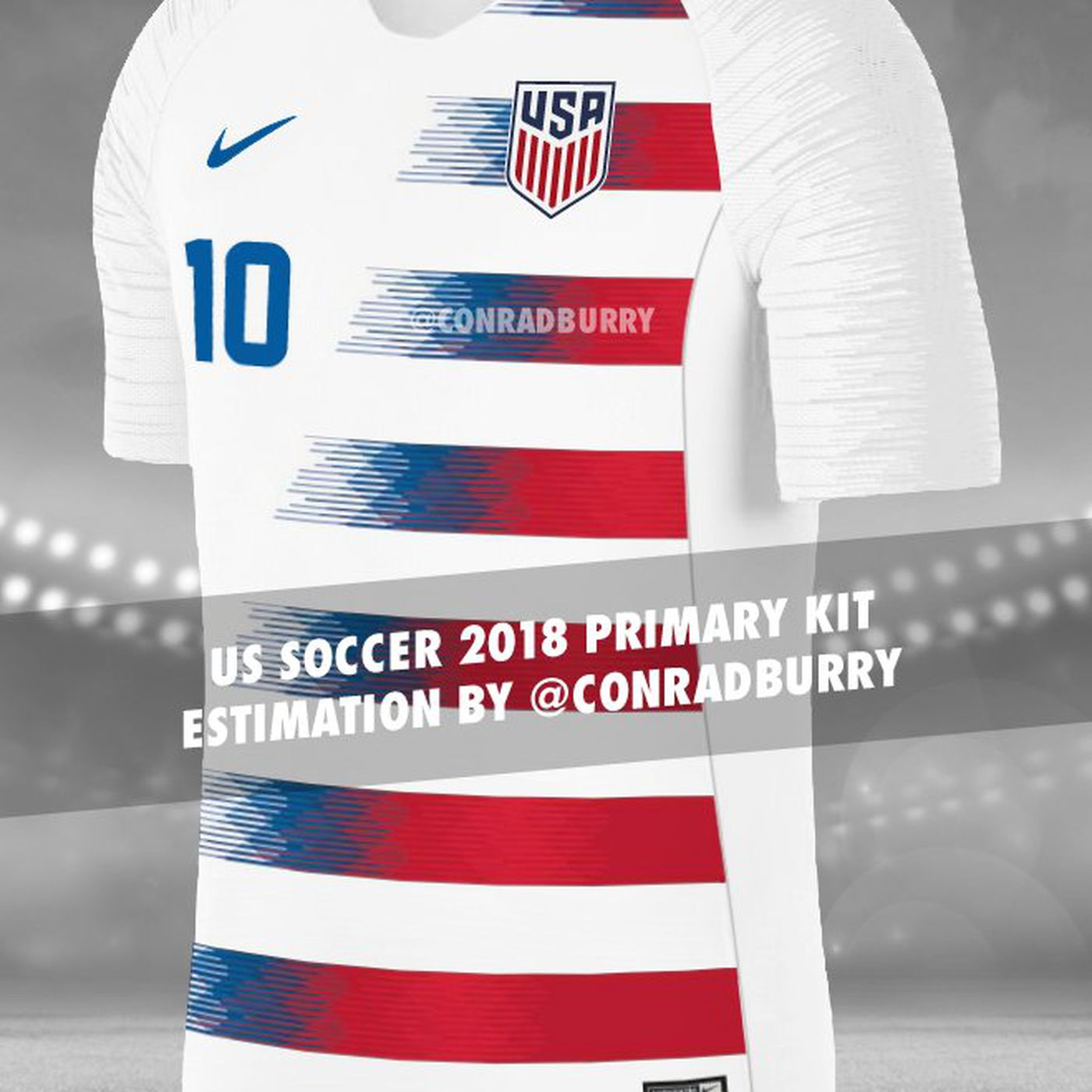 huge selection of 1bc24 68ce7 2018 USA jerseys leaked - Stars and Stripes FC