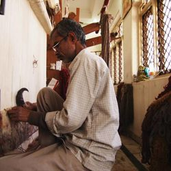 """The ancient art of carpet weaving is included in """"Islamic Art: Mirror of the Invisible World."""""""