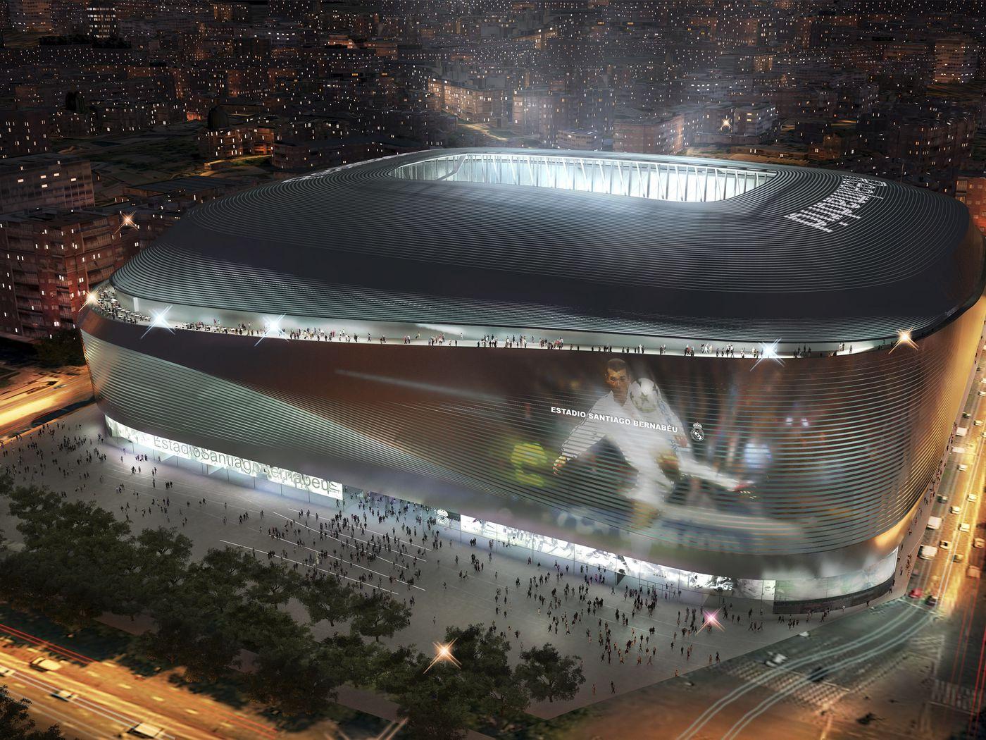 Real Madrid Release Video Of Santiago Bernabeu Stadium Renovations -  Managing Madrid