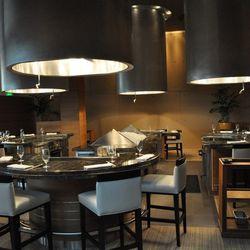 The Tetsu dining room.