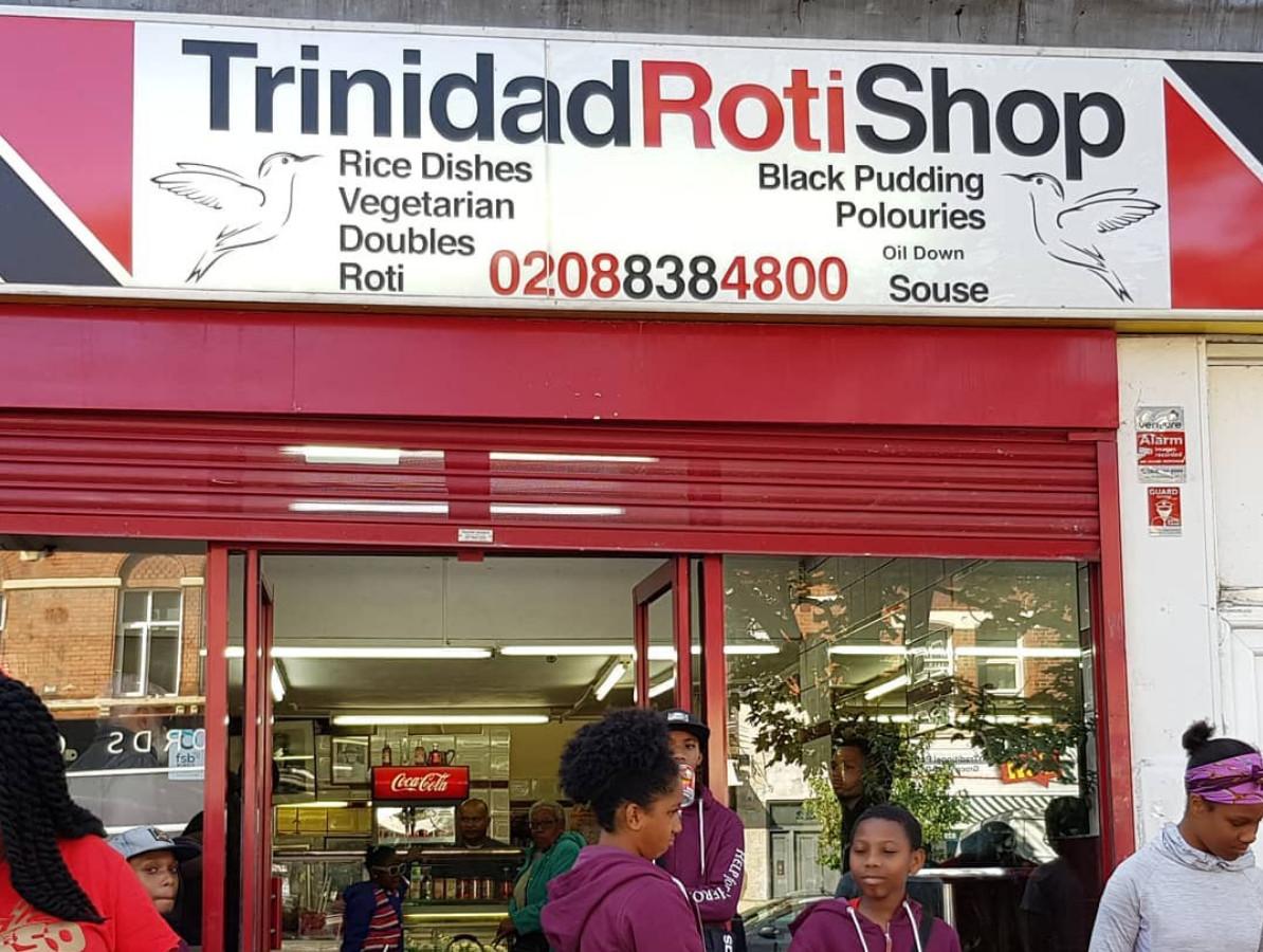 Best Trinidadian roti and Caribbean food in London: Trinidad Roti Shop in Harlesden, north west London