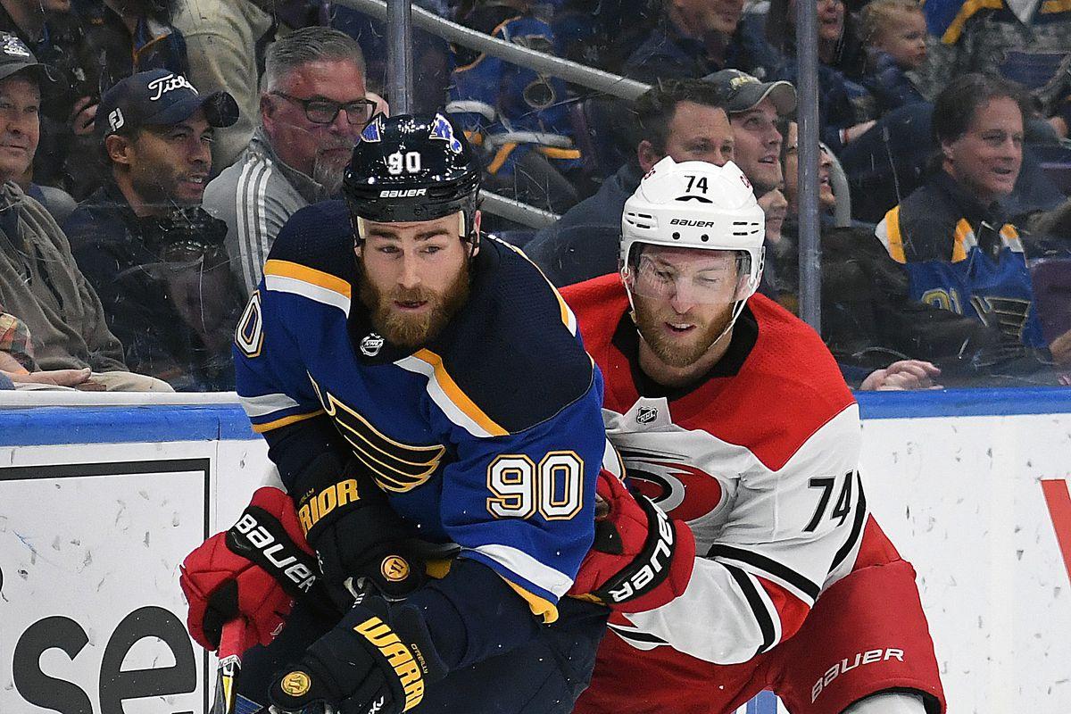NHL: NOV 06 Hurricanes at Blues