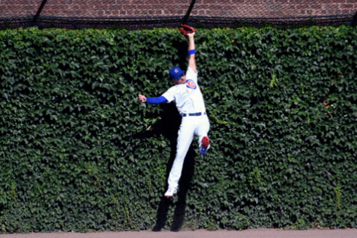 Center fielder Albert Almora Jr. has saved the Cubs two runs so far this season.