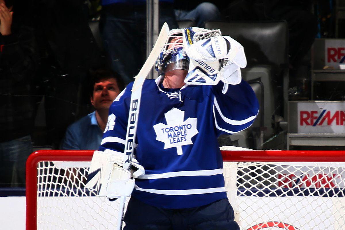 James Reimer and the Maple Leafs inexplicably defeated the Minnesota Wild last night.