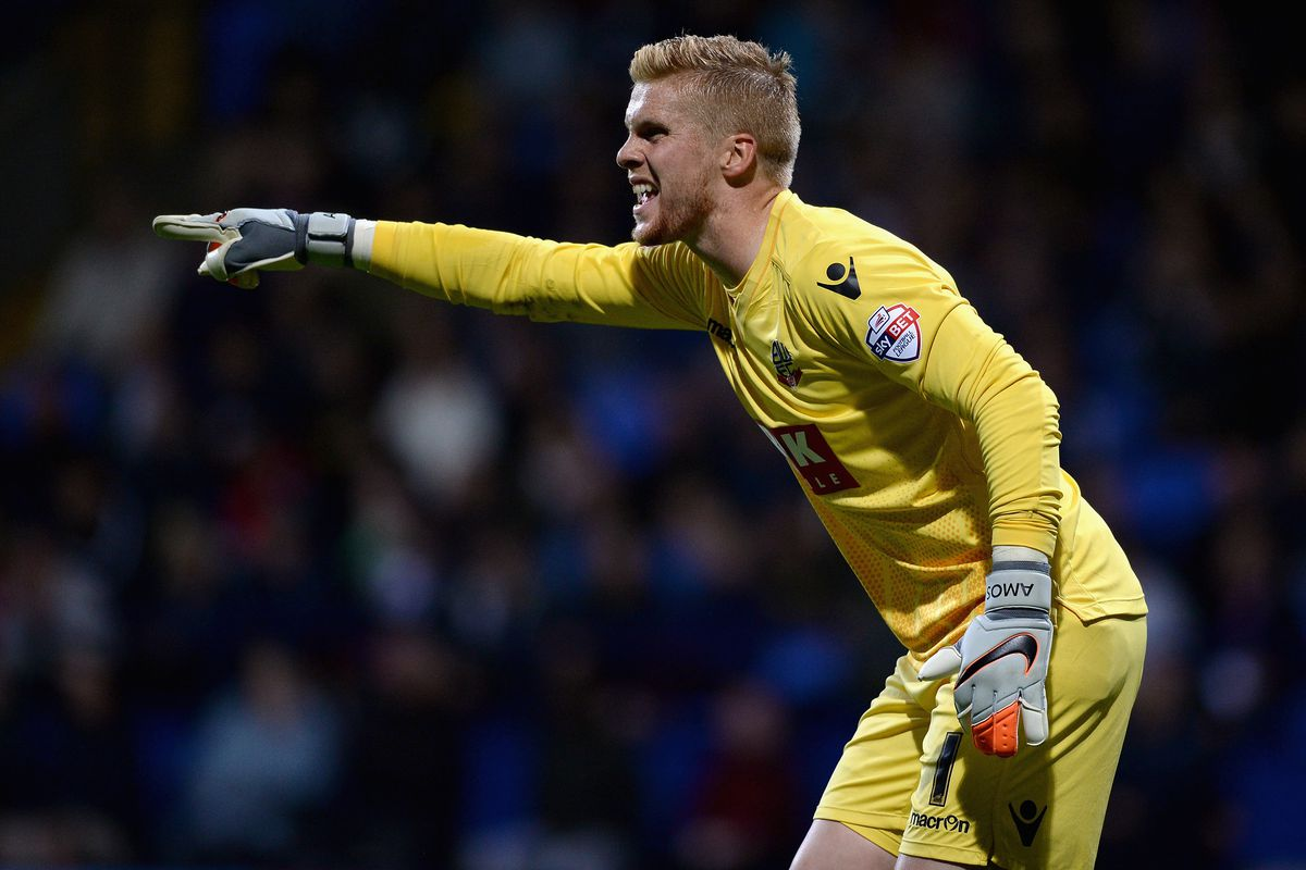 Ben Amos has been vital in the Bolton goal lately