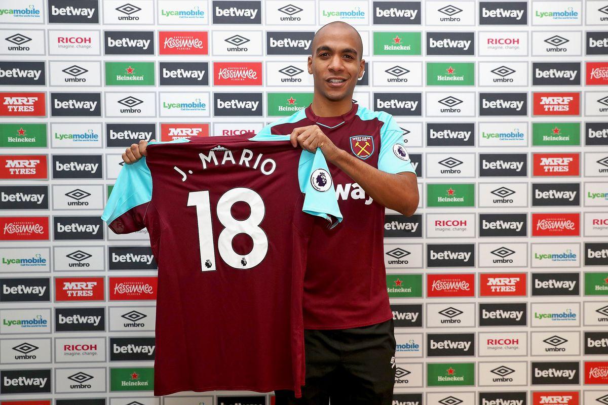 West Ham United Unveil New Signing Joao Mario