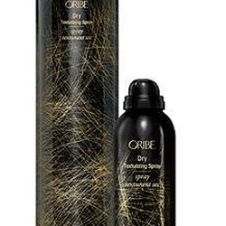 """Oribe Dry Texturizing Spray, <a href=""""http://www.bluemercury.com//dry-shampoo/oribe-dry-texturizing-spray.asp"""">$19.50</a> for 2.2 ounces. """"I always get a blowout before I travel. It's a huge time saver and a good dry shampoo will keep your blowout for day"""