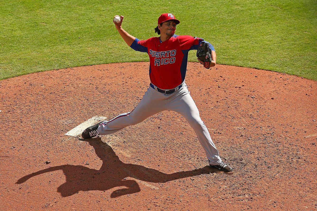 Randy Fontanez pitched for Puerto Rico in the 2013 World Baseball Classic