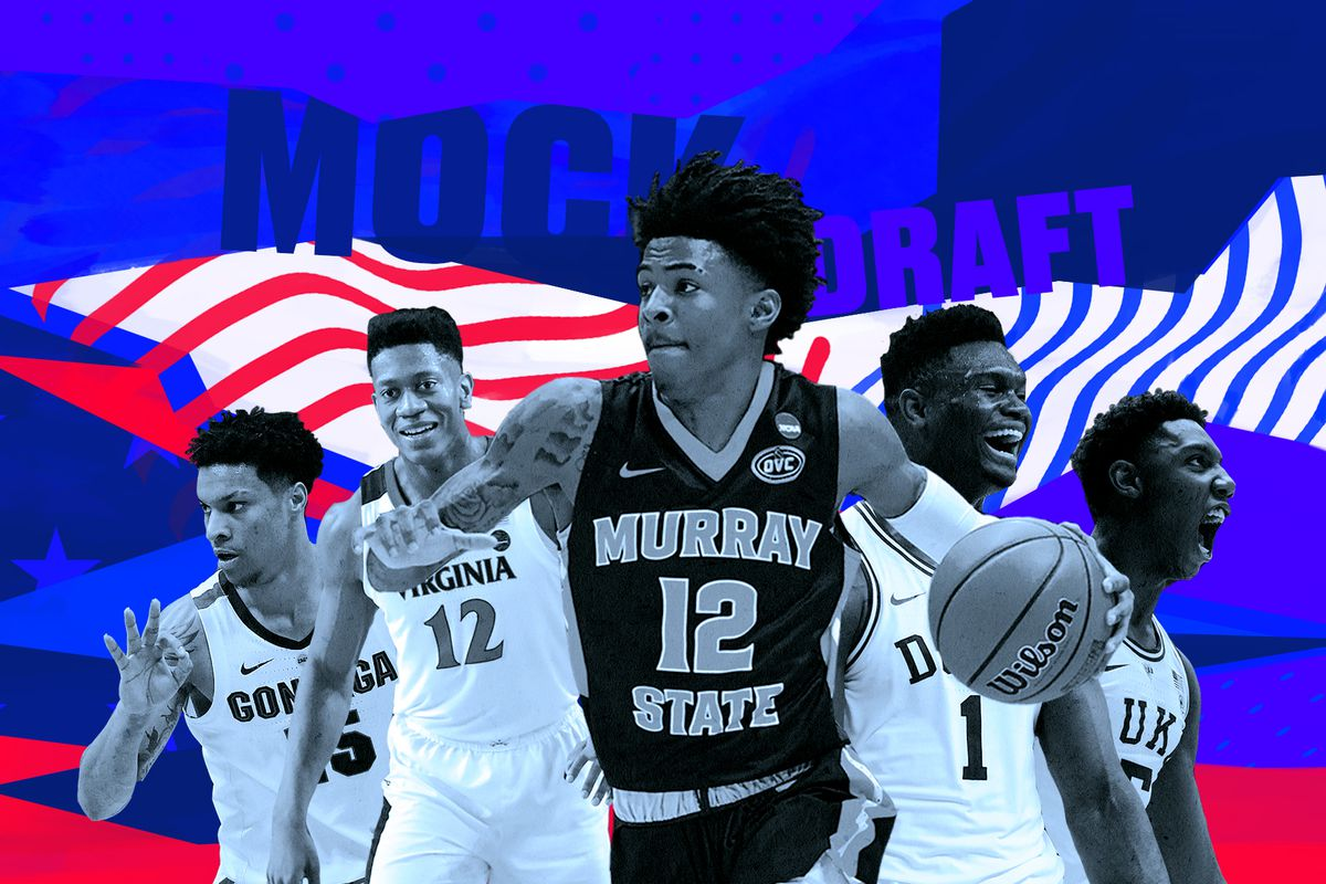 Nba Mock Draft 2019 Pelicans Land No 1 Pick And Zion Williamson In