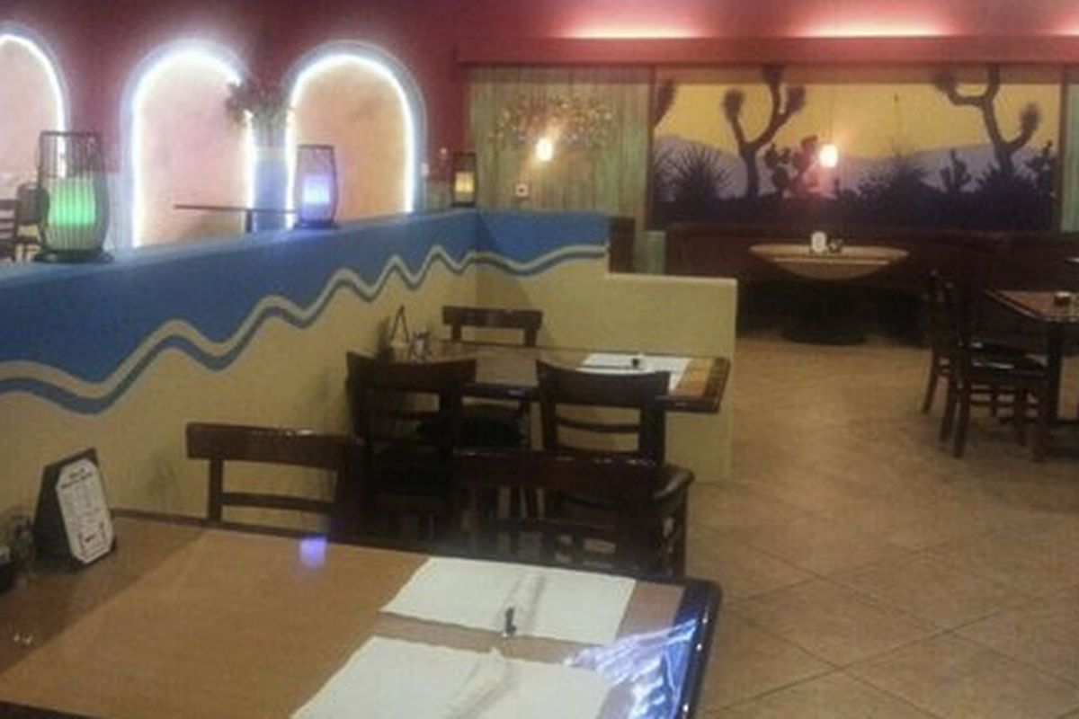 Mexican Restaurant Tropicana Las Vegas
