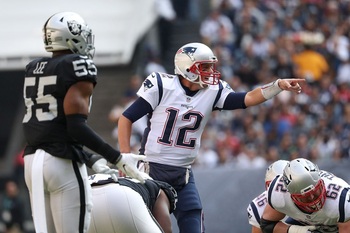 45342f0e4 Patriots vs Raiders  7 observations from New England s 33-8 win against  Oakland