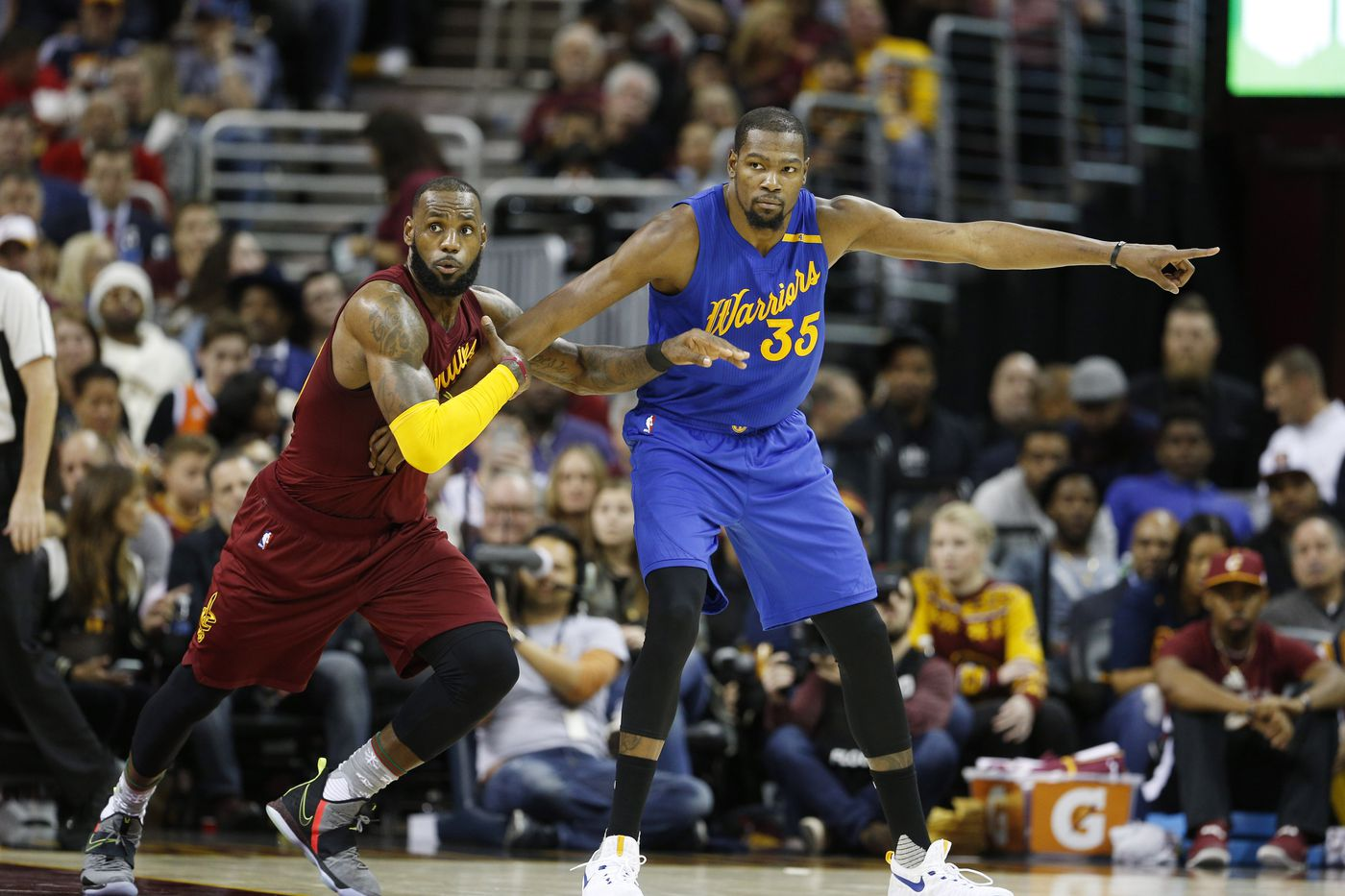 Warriors Cavaliers matchup offers perspective for Lakers Silver