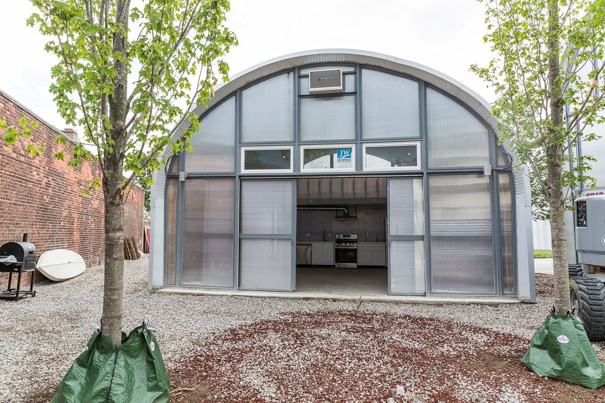 True North, a Quonset hut community, opens for residents - Curbed ...