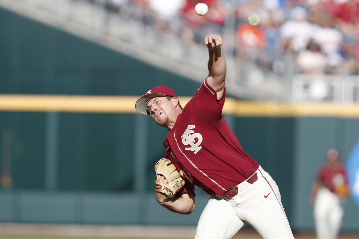 96f6f4acfb2 3 Up, 3 Down: Starting pitching shines in FSU's win to start the College  World Series