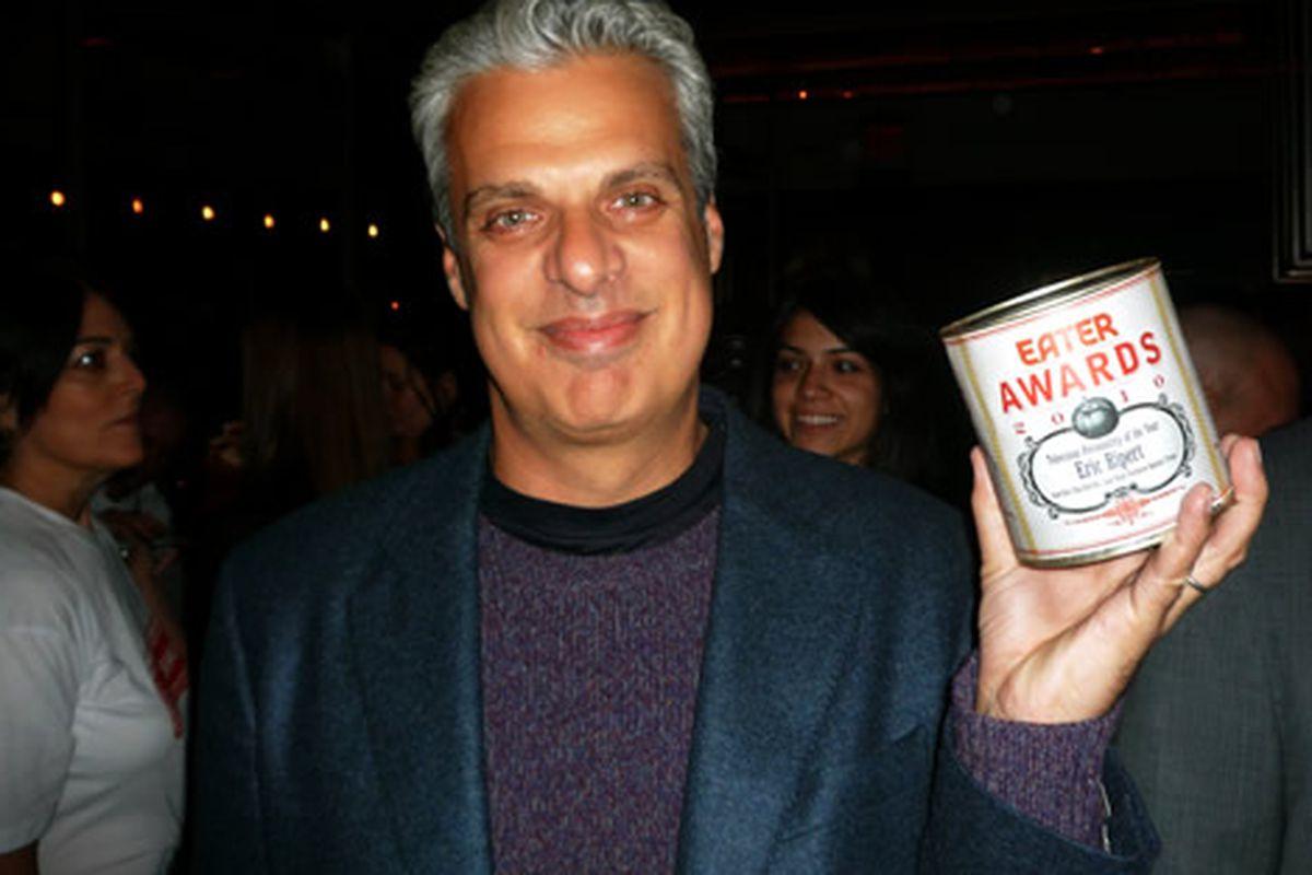 Eric Ripert, With Eater Award