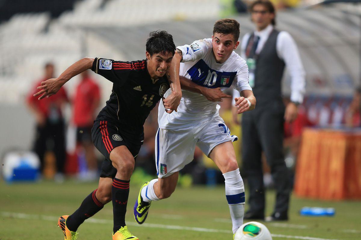 Italy v Mexico: Round of 16 - FIFA U-17 World Cup UAE 2013