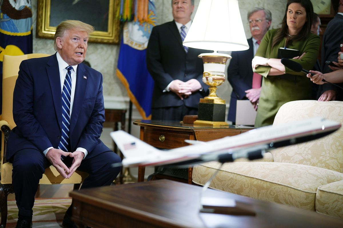 President Donald Trump in the Oval Office of the White House June 20, 2019 in Washington, DC.