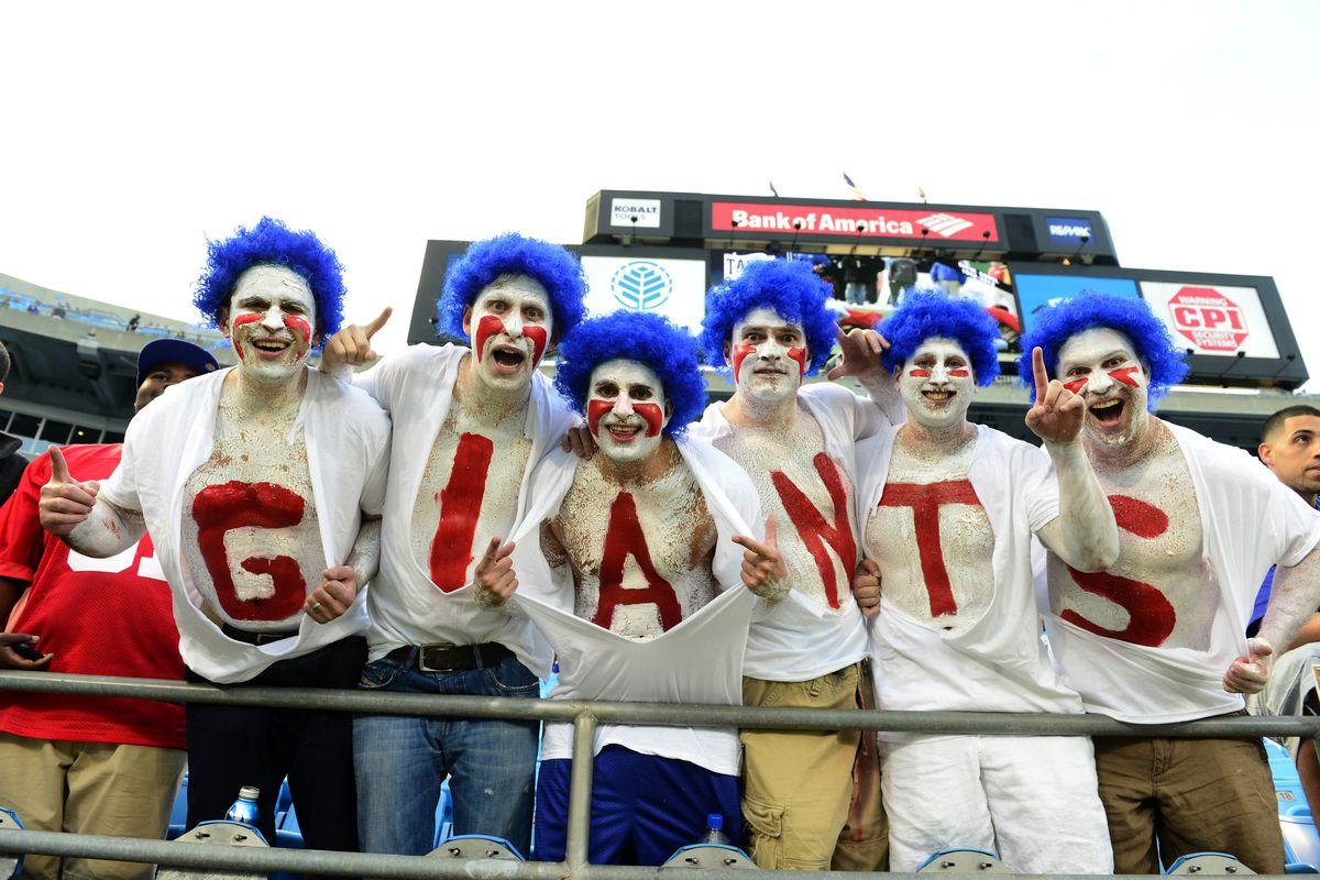 New York Giants fans