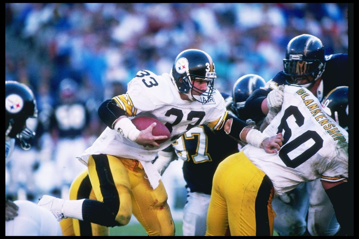 0cf33fefb How former Steelers RB Merril Hoge realized in one practice play what it  was like to play in the NFL