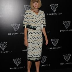 Anna Wintour attends the Gucci Museum opening on September 26, 2011 in Florence, Italy