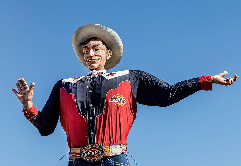 Big Tex at Texas State fair
