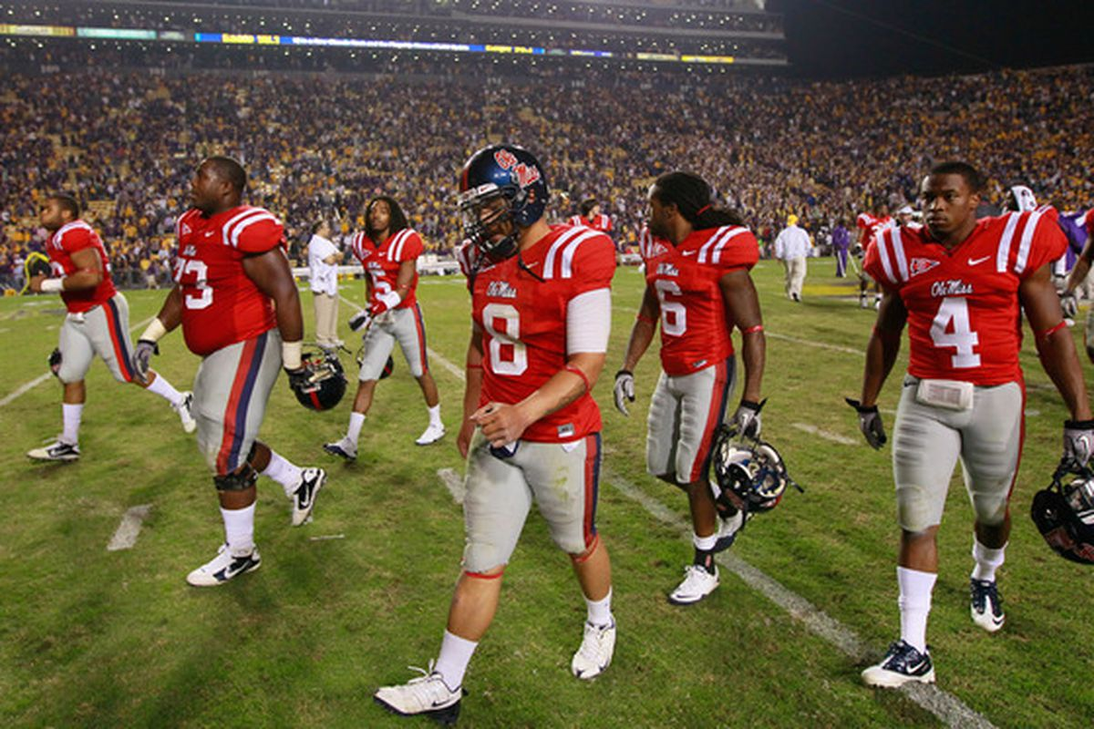 Could the Rebels get revenge on LSU this fall?