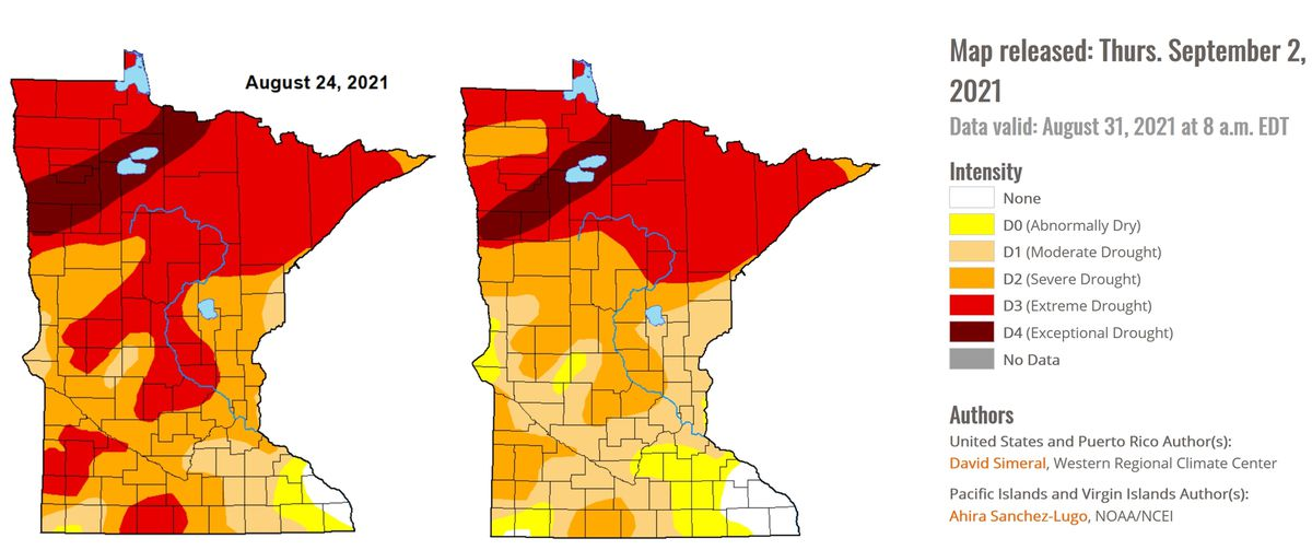 Drought Eases Slightly – Nicer Than Average Holiday Weekend Weather
