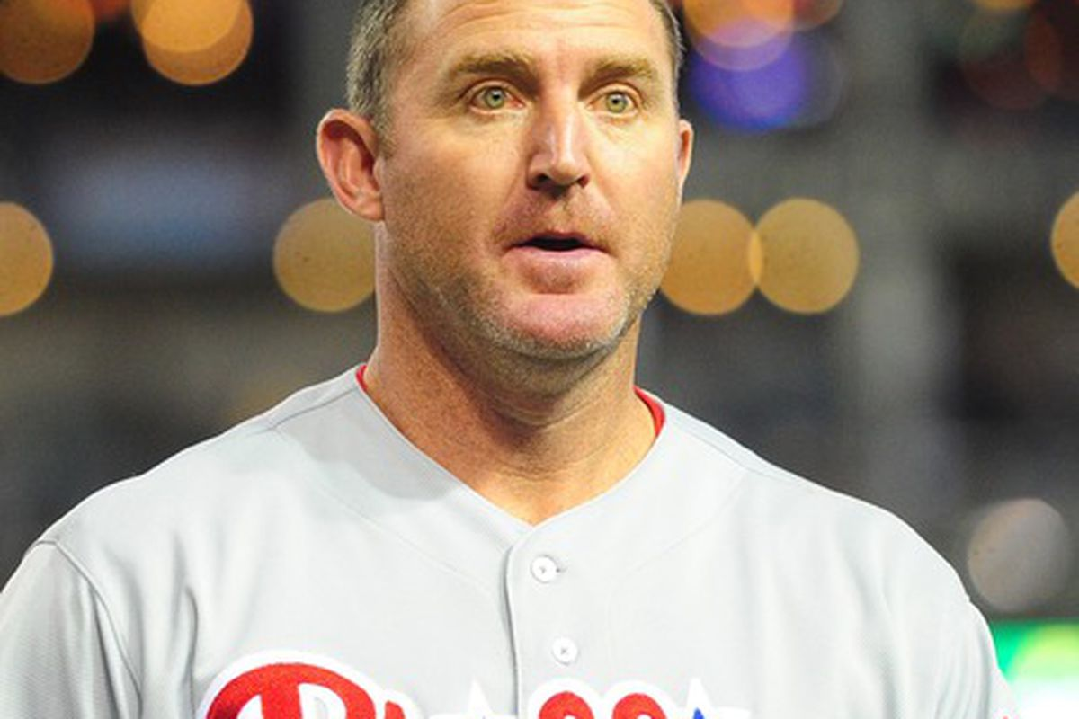 Jim Thome looks as surprised to find out he's still playing baseball as I was to hear it.