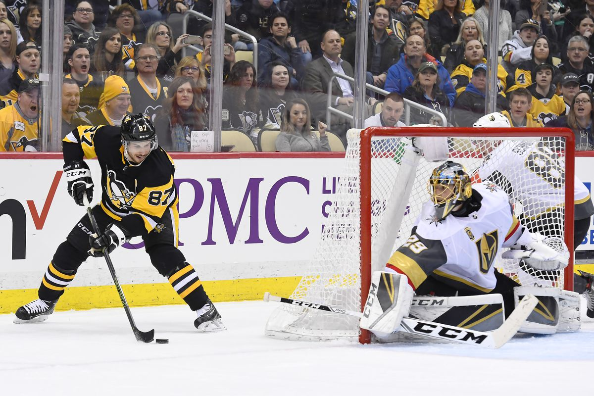 b90b5e70fd5 Golden Knights vs Penguins Recap: Pens put 5 past Fleury and hold on for win