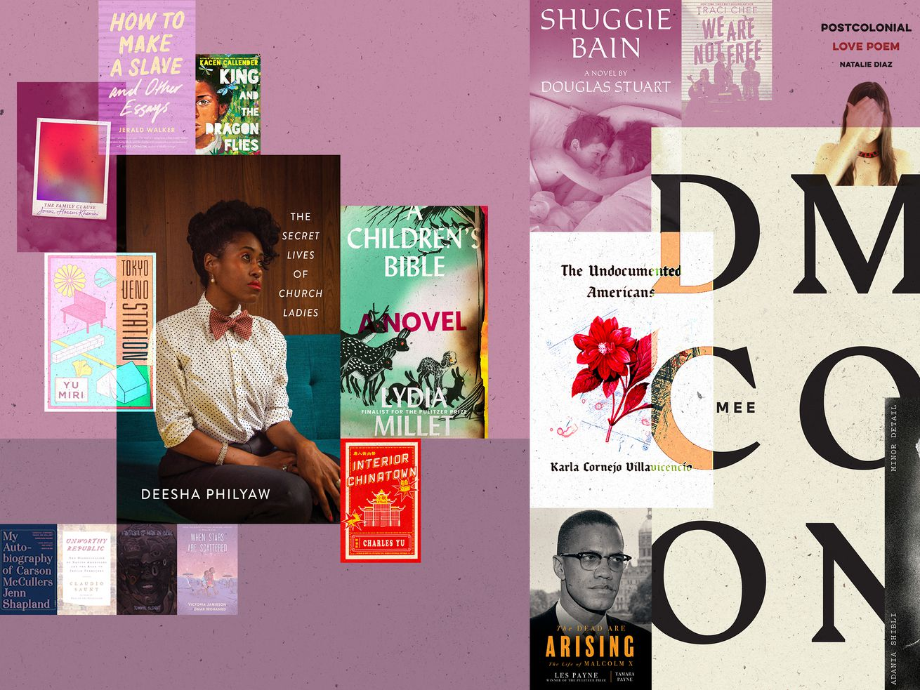 Illustration: National Book Award finalist covers