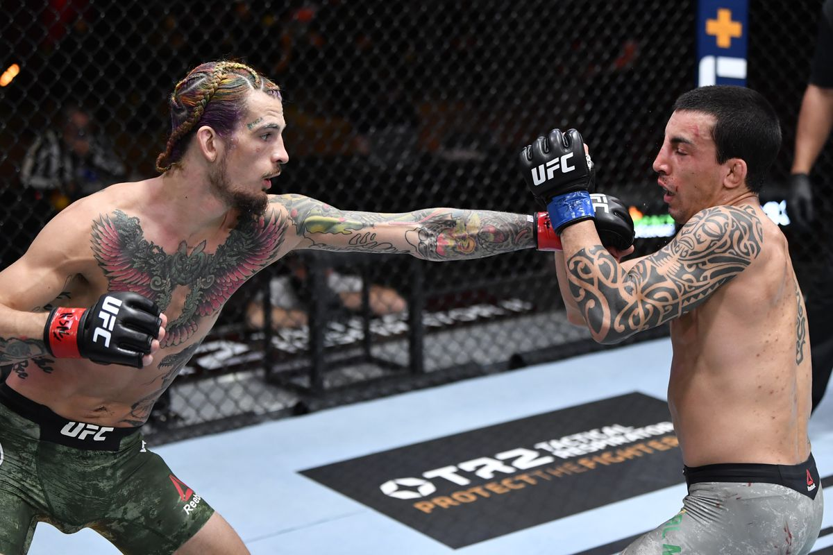 UFC 260 results: Sean O'Malley finishes Thomas Almeida with brutal knockout in third round - MMA Fighting