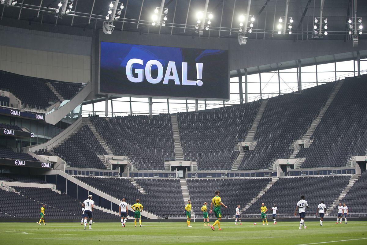 Tottenham Hotspur v Norwich City - Practice Match